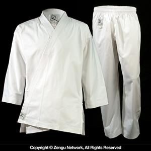 Heavyweight (11 oz.) White Karate Uniform